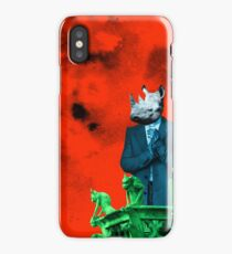 Governor Rhino iPhone Case/Skin