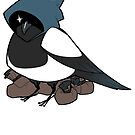 D&D Birds - Rogue by pigbee