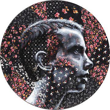 Dark Eleven Floral- Stranger Things by fugitiverabbit