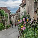 Saint Cirq Lapopie - Street by DPalmer
