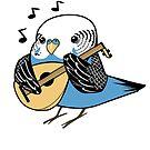 D&D Birds - Bard by pigbee
