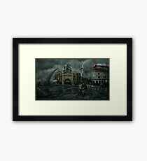 The undoing of our doing Framed Print