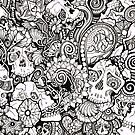 Skulls All Over by ArdentShadows