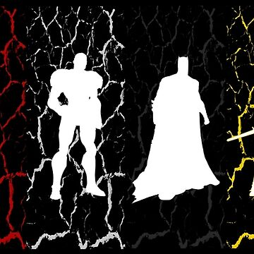 JLA-2017 (Static Color) by PETRIPRINTS