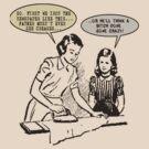 1950s Wife Rules Humor by tommytidalwave