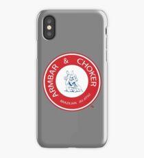 Armbar & Choker BJJ iPhone Case/Skin