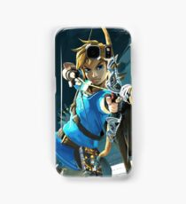 Link - The Legend Of Zelda: Breath of the Wild Samsung Galaxy Case/Skin