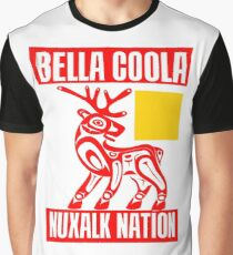 BELLA COOLA RED Graphic T-Shirt
