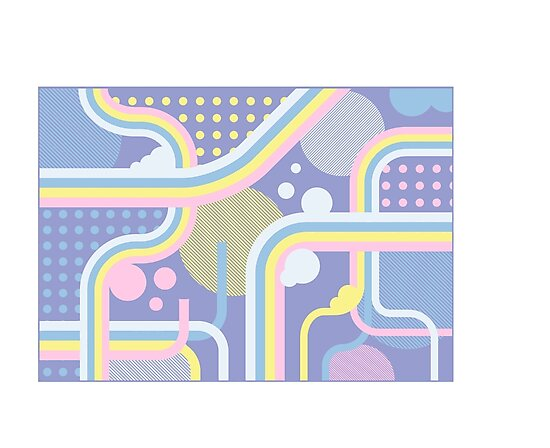 Pretty Patterned Pastel Dreams  by ShanWherry