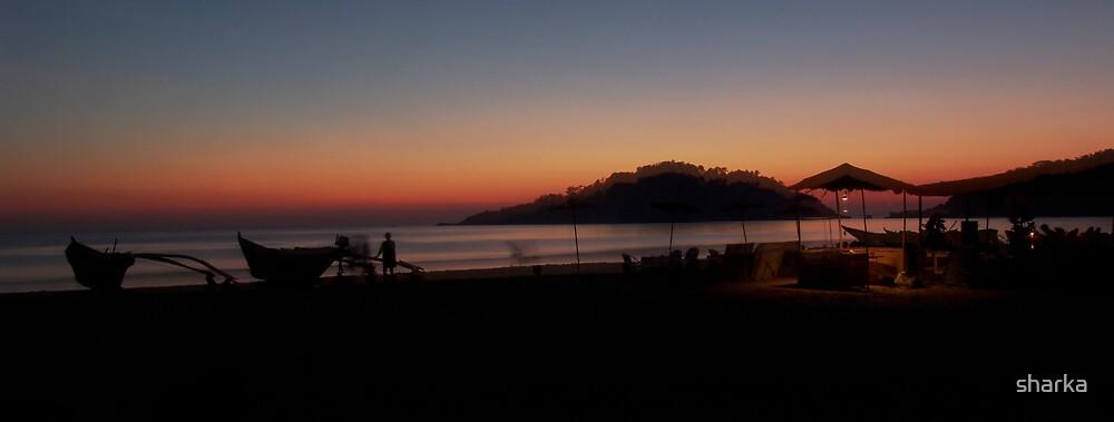 Sunset by sharka