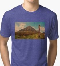 West Highland Way and The Buachaille Tri-blend T-Shirt