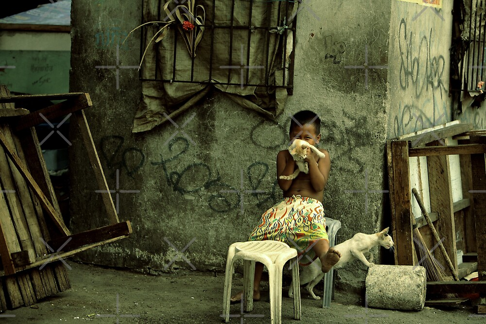 Happiness in Poverty by Ben Pacificar