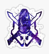 Halo Legendary Splatter Sticker