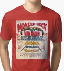 Classic- Monster Tour 88- Vintage Tri-blend T-Shirt