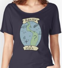Prudence Island Is A Myth Women's Relaxed Fit T-Shirt