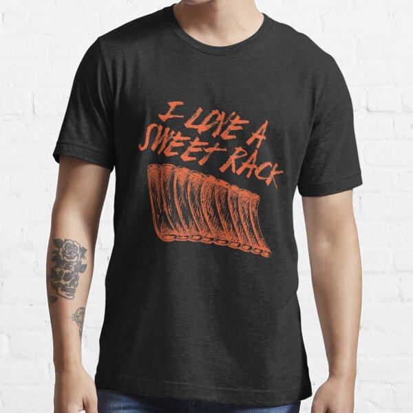 I Love A Sweet Rack Funny Rib Design Essential T-Shirt