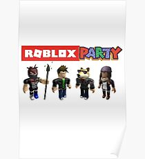 Roblox Party Poster