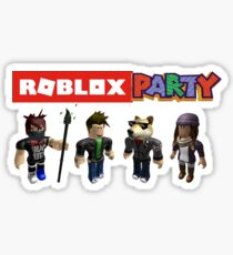 Roblox Party Sticker