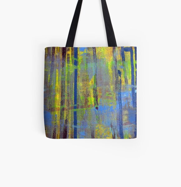 Yellow Jacket All Over Print Tote Bag