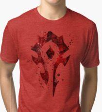 Horde Splatter Tri-blend T-Shirt