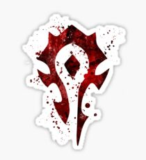 Horde Splatter Sticker