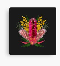 Aussie Bouquet by KarwilbeDesigns Canvas Print