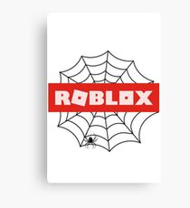 Roblox Spider Canvas Print