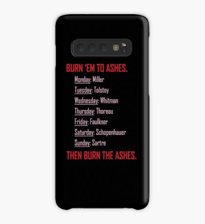 Huxburywell: Manifesto 451 Case/Skin for Samsung Galaxy