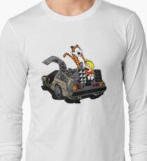 CALVIN AND HOBBES DELOREAN T-Shirt