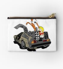 CALVIN AND HOBBES DELOREAN Studio Pouch