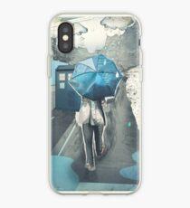 We'll Be Alright [Blue Umbrella] iPhone Case