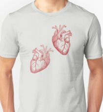 Anatomical Timelord Double Heart T-Shirt