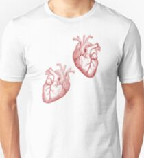 Anatomical Timelord Double Heart Unisex T-Shirt
