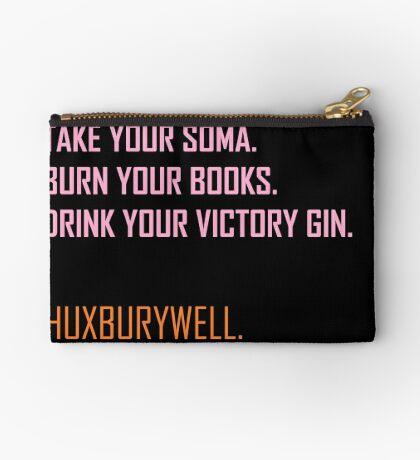 Huxburywell: Soma & Gin Zipper Pouch