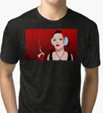 Earmuffs Tri-blend T-Shirt