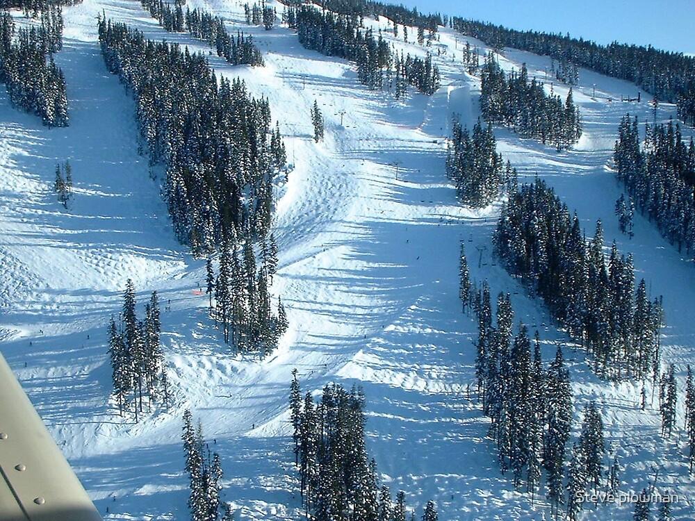 Ski run by Steve plowman
