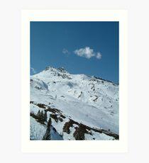 Hintertux Glacier Art Print