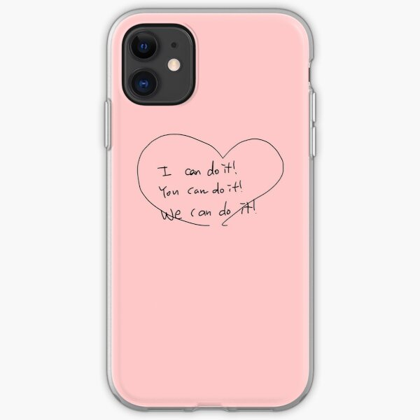 NCT 127 Jaehyun's CUTE English Message iPhone Soft Case