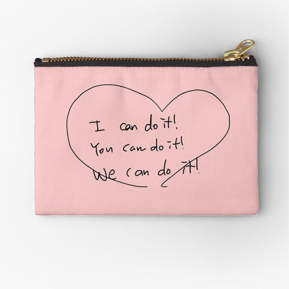 NCT 127 Jaehyun's CUTE English Message Zipper Pouch