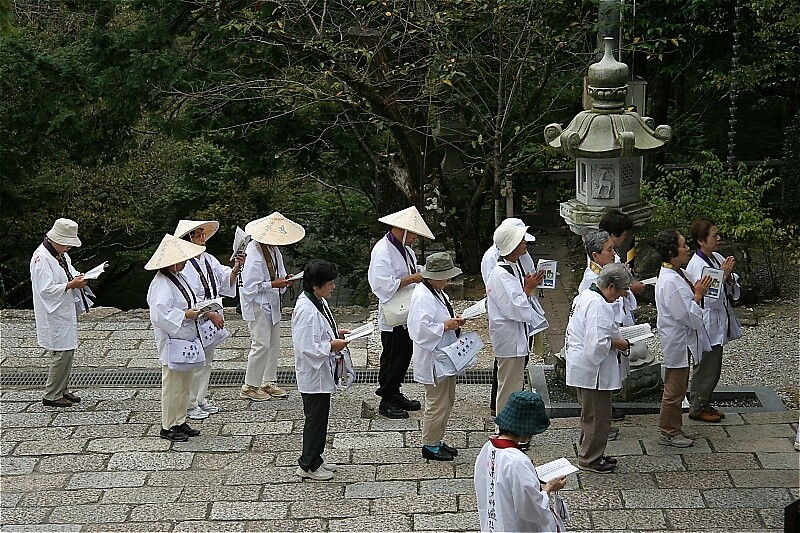 Pilgrims at Temple 31 by Trishy