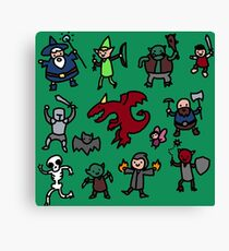 Dungeon Master (color edition) Canvas Print