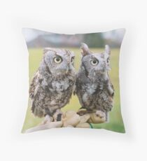 Ob & Puck  Throw Pillow