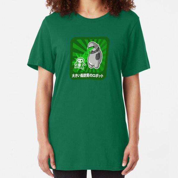 Big Fat Robot has a victim Slim Fit T-Shirt