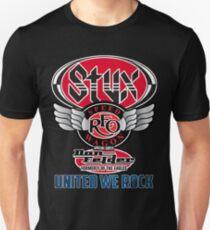 STYX United We Rock Tour 2017 STREO05 Unisex T-Shirt