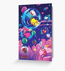 SpaceADVENTURE Greeting Card
