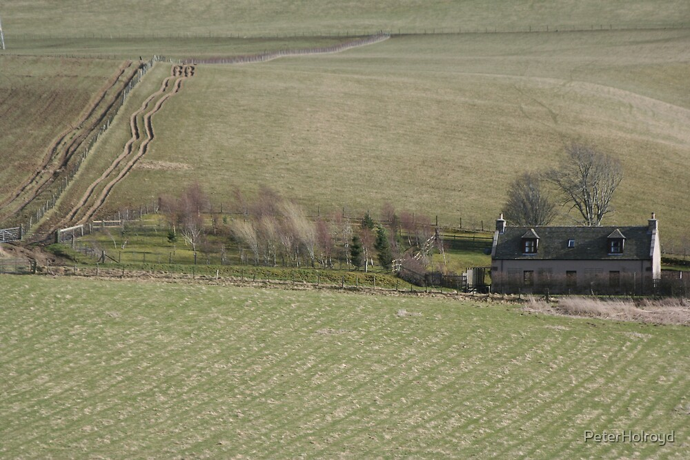 The isolation of the hill farmer by PeterHolroyd