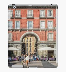 Plaza Mayor of Madrid iPad Case/Skin
