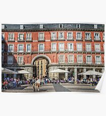 Plaza Mayor of Madrid Poster