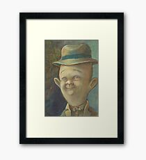 Percy Gloom. Framed Print