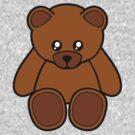 Teddy Bear Sticker by deanworld